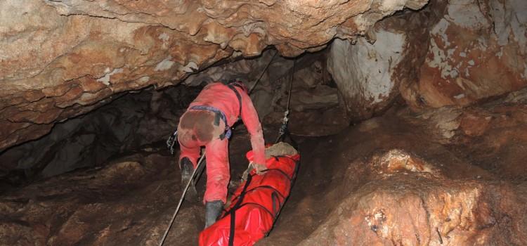"""Cave Rescue in """"Tangarachka"""" Cave"""