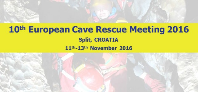 10th European Cave Rescue Meeting 2016