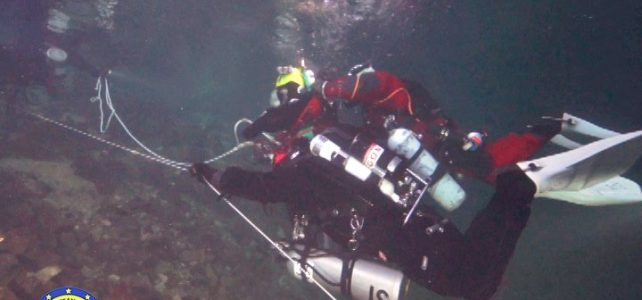 Diving accident in a cave in the Dominican Republic