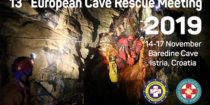 13th ECRA Meeting, Baredine Cave, Istria, Croatia