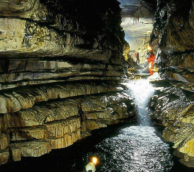 Accident in german water-cave with tragic end