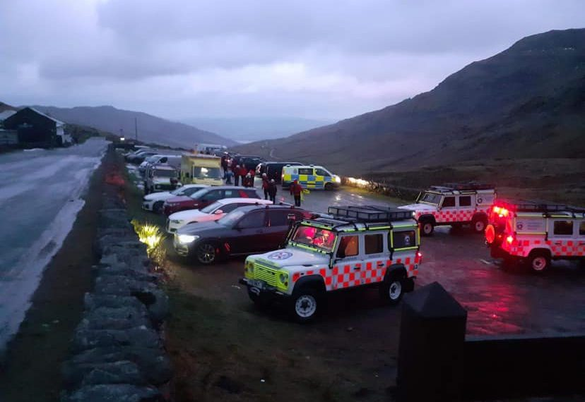 Rescuer suffers life-changing injuries