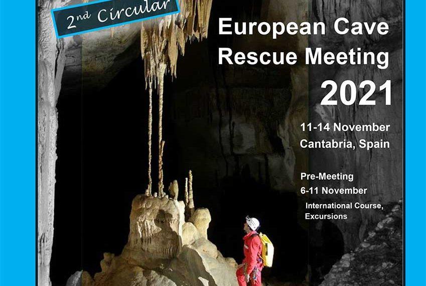 European Cave Rescue Meeting 2021 – Second Circular